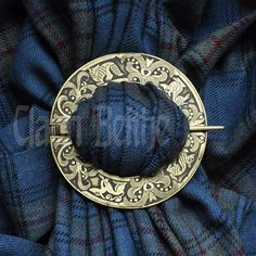 Copy based on a Highland ring brooch was found on Rannoch Moor in Perthshire. (Late 16th century)