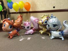 Meet our NEW Palace Pets Treasure, Beauty, Blondie, and Pumpkin! These AirWalkers® are perfect for any Princess!