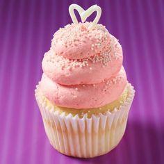 Raspberries  Cream Cupcake from Gigi's in Raleigh