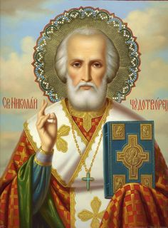 Religious Paintings, Saint Nicholas, Son Of God, Orthodox Icons, Bible Art, All Saints, Ikon, Portraits, Symbols