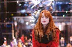 Love her hair! -Red Hair Shades