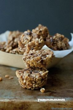 Snap Crackle Pop Breakfast Bites - Gluten Free + Addicting   @Susan Salzman   www.theurbanbaker.com
