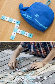 Möbi is a fun, fast-paced tile game that helps kids (and grown-ups) learn and apply basic math skills.