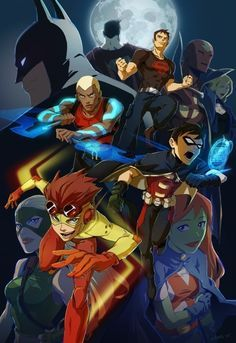 Young Justice as anime                                                       …