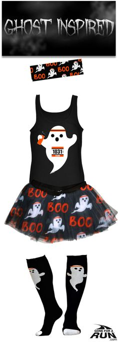 Trick or run? Get in a #spooky fun mood with our #Halloween inspired running… Running Friends, Running Gifts, Running Outfits, Halloween Running Costumes, Halloween Halloween, Pumpkin Run, Run Disney, Disney 10k, Running Accessories