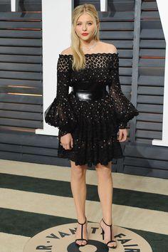 Chloë Grace Moretz in Alexander McQueen