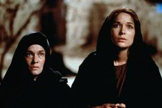 """Pernilla August as Mary, with Simone Bendix, in """"Mary, Mother of Jesus,"""" 1999"""