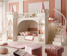 Captivant 5 Idées Pour Une Chambre Originale De Fille Enfant