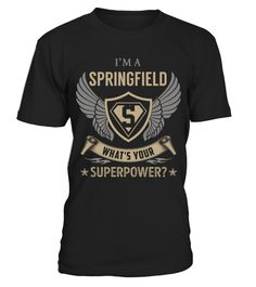 SPRINGFIELD - Superpower Name Shirts