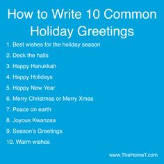 Pinterest 16 everything else images inspiration quotes messages this post has a handy guide on how to write 10 common holiday greetings read m4hsunfo