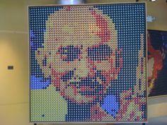 Nespresso pod art renders Gandhi