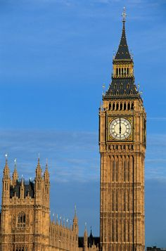 Big Ben.....England's finest and the architectural structure is awesome too....