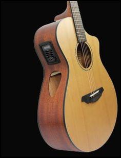 Cinnamon Burst Fragrant Flavor Breedlove Usa Concerto E Acoustic-electric Guitar In