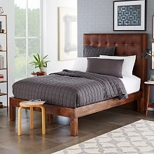 Mid-Century Beds, and Modern Upholstered Beds |west elm | west elm