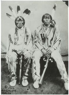 """Antelope"" (under-chief, Fort Berthold, 1872)  Badger called them PORCUPINE AND ANTELOPE, underchiefs of Gros Ventres, 1872, Fort Berthold……Red Bear (11-20-22) identified as Fine Porcupine and Plenty Antelope – Gros Ventre."