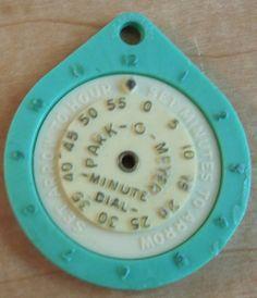 SOLD! Vintage Turquoise Blue Parking Meter / by SoaringHawkVintage, $16.00