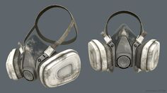 ArtStation - Gas Mask, Josh Russell