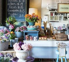 Armchair Collective in Australia - part cafe, part flower shop, part home store. aka everything I have ever wanted