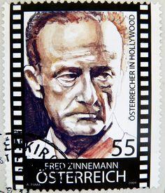 Fred Zinnemann, film director Hollywood