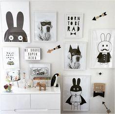 Neue dekorative bilder poster kunst für kinderzimmer baby malerei s ...  #bilder #dekorative #kinderzimmer #kunst #malerei #poster