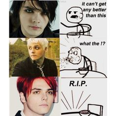"""gerard's killed the ceral man,"" by shit on Polyvore"