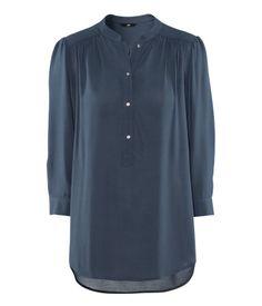 Harmaansininen sifonkipaita H 24,95 e - grey blue blouse