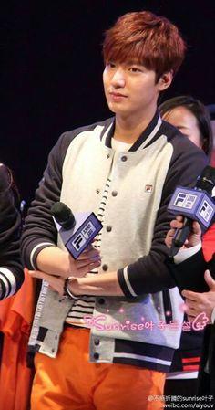 Lee Min Ho | Anna Sui Fila Launch  (Xiamen,China | 02.14.14)