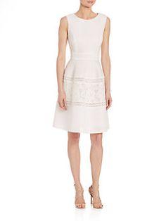 Teri Jon by Rickie Freeman - Sleeveless Lace Dress