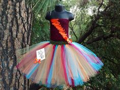 Mad Hatter tutu dress Alice in Wonderland by PrincessEmmaCouture