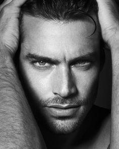 Goncalo Teixeira by Dimitris Theocharis Art Photography Portrait, Man Photography, Close Up Photography, Fashion Photography, Poses For Men, Male Poses, Beautiful Men Faces, Gorgeous Men, Beautiful People