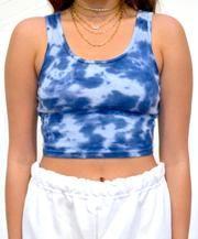 Dye Shirt, Tye Dye, Crop Tops, Tank Tops, Diy Clothes, Blueberry, Cotton, Presents, Tie