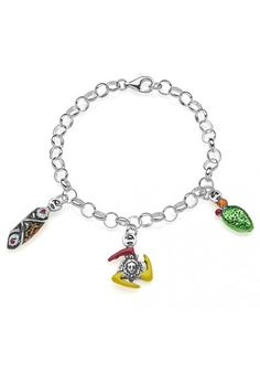 Gioielli Dop Sterling Silver Light Bracelet - Sicilia €99.00