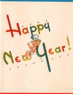 """Happy NEW Year Card""  | eBay"