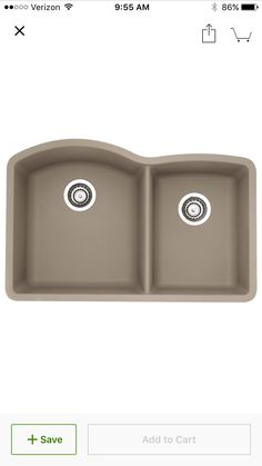 Jacuzzi AS-US20RUSSK Astracast 33 Double Basin Drop-In Granite ...