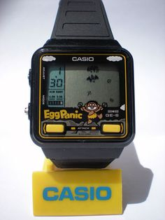 Visual Feed: Casio Game Watches | Acclaim