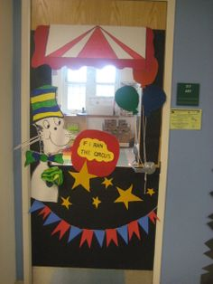 If I Ran The Circus Door Decorating Circus Theme