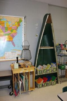 incredible camping themed classroom