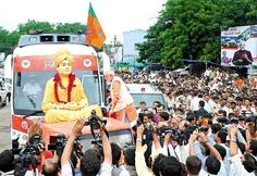 Yatra ends today: From Cong baiting to praising Patels, Narendra Modi set for polls | 21 Articles  http://www.21articles.com/Article/425/Yatra-ends-today-From-Cong-baiting