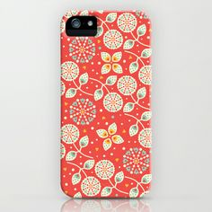 Vintage Flora iPhone & iPod Case by Anna Deegan - $35.00
