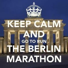 Berlin Marathon!!!!!!!!!