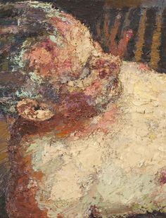 Yisrael Dror Hemed, Head, 2012, oil on canvas, 45x35 cm