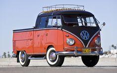 1960 Volkswagen double cab pickup