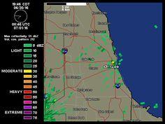 Chicago Radar   Weather Underground