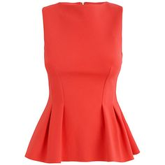 Buy Almari Seam Sleeveless Top, Orange Online at johnlewis.com via @walkinginmem