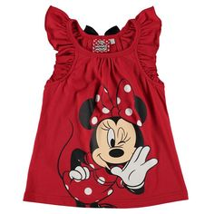 Girls Disney Minnie Mouse Vest