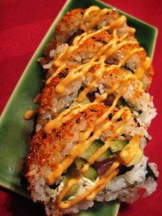 Spicy Tuna Roll.