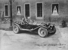 Mille Miglia 1931 - Alfa Romeo 8c 2300 #89  Arcangelli / Bonini.