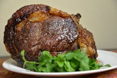 You can make the perfect roast beef by seasoning with salt and pepper and cooking slowly in your oven. Try this easy recipe for succulent roast beef.