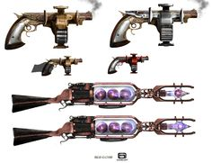 Weapons design, Gamelfot, Six guns game for Ipad and Iphone