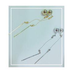 libitum jewel♡ libi-021  ¥2.700(税込) リバーシブルピアス/ゴールド・シルバー